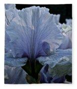 Blooming Iris Fleece Blanket