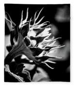 Blooming Sunflower Fleece Blanket
