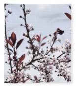 Blossoms In Time Fleece Blanket
