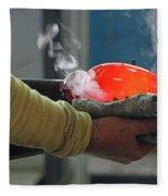Blowing Glass IIi Fleece Blanket