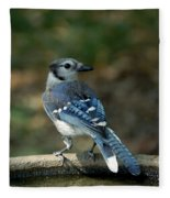 Blu-jay Fleece Blanket