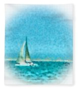 Blue Bayou Fleece Blanket