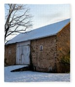Blue Bell Barn Fleece Blanket