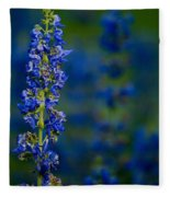 Blue Bunny Fleece Blanket