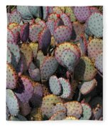 Blue Cactus Fleece Blanket