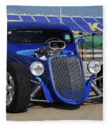 Blue Coupe Fleece Blanket