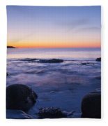 Blue Dawn Acadia National Park Fleece Blanket