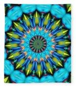 Blue Mandela 102311 Fleece Blanket
