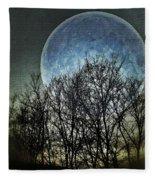 Blue Moon Fleece Blanket
