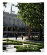 Blue Mosque I - Istanbul Fleece Blanket