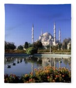 Blue Mosque, Sultanahmet, Istanbul Fleece Blanket