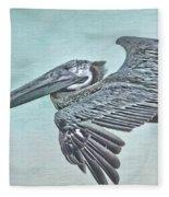 Blue Pelican Fleece Blanket