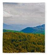 Blue Ridge Panorama Fleece Blanket