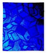 Blue Zinc Fleece Blanket