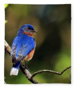 Bluebird 4 Fleece Blanket