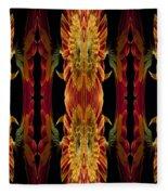 Blumen Kunst Fleece Blanket
