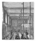 Boarding School, 1862 Fleece Blanket