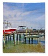 Boat Caddy Fleece Blanket