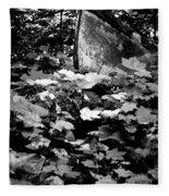 Boat In The Landscape II Fleece Blanket