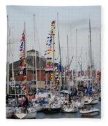 Boat Night Fleece Blanket