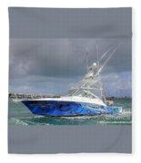 Boat Wrap On Cabo Fleece Blanket