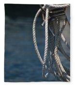 Boating Time Fleece Blanket