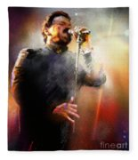 Bobby Kimball From Toto 01 Fleece Blanket