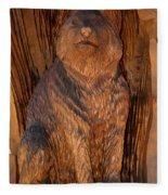 Bobcat Reflections Fleece Blanket