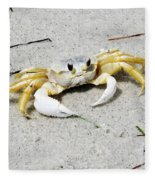 Boca Grande Crab Fleece Blanket