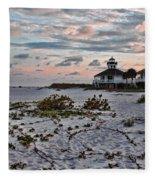 Boca Grande Sunset Fleece Blanket