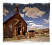 Bodie Church - Impressions Fleece Blanket