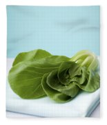 Bok Choy Chinese Cabbage Fleece Blanket