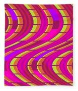 Bold Swirl  Fleece Blanket