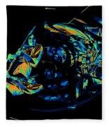 Tb Cosmic Swirl Fleece Blanket