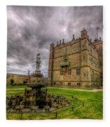 Bolsover Castle And Garden Fleece Blanket