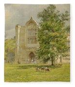 Bolton Abbey  Fleece Blanket