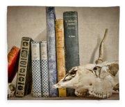 Bone Collector Library Fleece Blanket