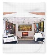 Booth Waynesboro Fleece Blanket