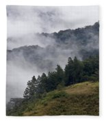 Boquete Highlands Fleece Blanket