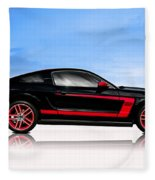 Boss Mustang Fleece Blanket