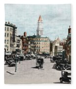 Boston: Bowdoin Square Fleece Blanket