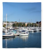 Boston Harbor Fleece Blanket