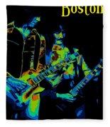 Boston In Spokane 1978 Fleece Blanket