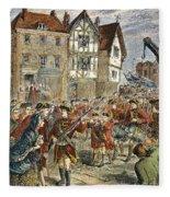 Boston: Occupation, 1768 Fleece Blanket