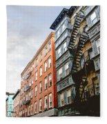 Boston Street Fleece Blanket
