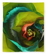 Botanical Fantasy 011512 Fleece Blanket