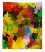 Botanical Fantasy 110512 Fleece Blanket