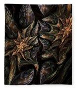 Botanical Fantasy 123011 Fleece Blanket