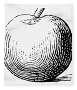 Botany: Apple Fleece Blanket