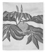 Botany: Breadfruit Tree Fleece Blanket